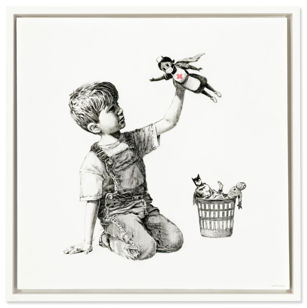 Banksy: Game Changer, 2020 | Image: Christie's